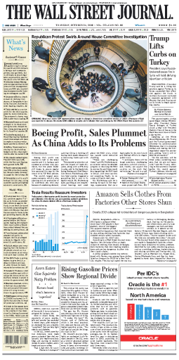 The Wall Street Journal - 24.10.2019