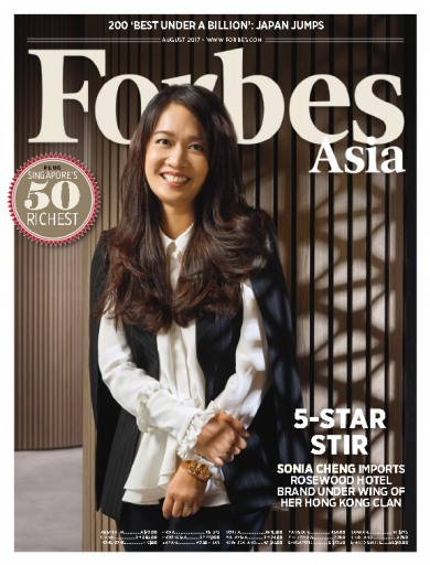 Forbes Asia August 2017