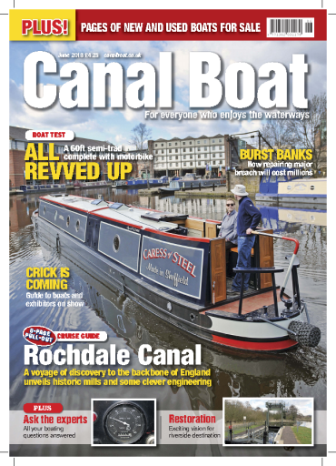 Canal Boat – June 2018