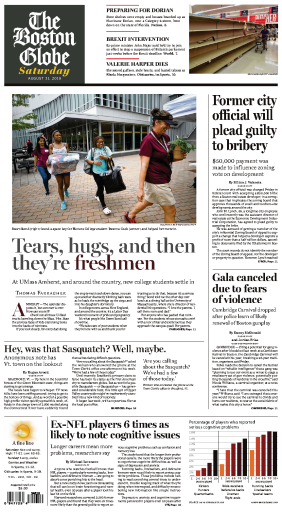 The Boston Globe - 31.08.2019