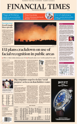 Financial Times Europe - 23.08.2019