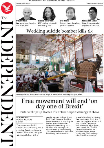 The Independent - 19.08.2019
