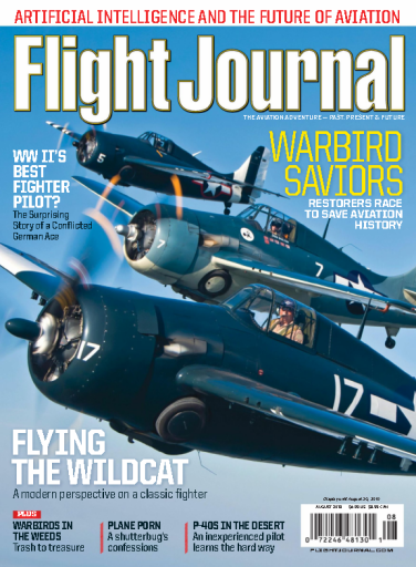 Flight Journal – August 2019