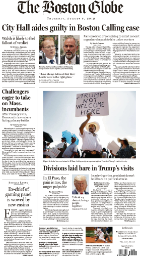 The Boston Globe - 08.08.2019