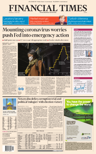 Financial Times Europe 04Mar2020