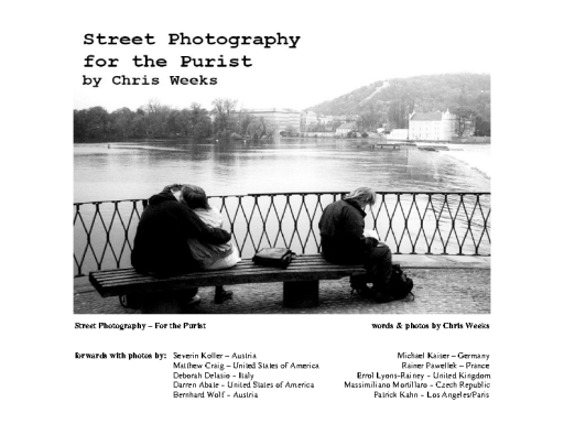 Street Photography for the Purist