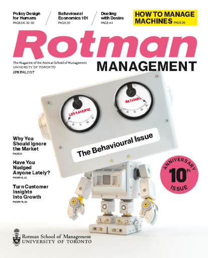 Rotman Management — Spring 2017