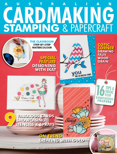 Cardmaking Stamping & Papercraft - Volume 24 Issue 5 2019