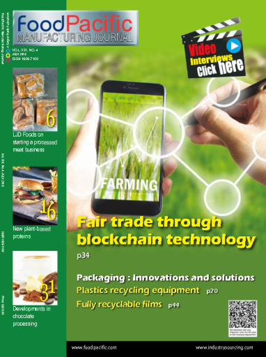 FoodPacific Manufacturing Journal – July 2019
