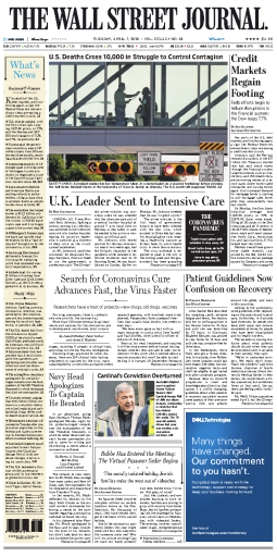 The Wall Street Journal - 07.04.2020