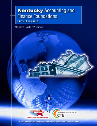 Accounting and Finance Foundations