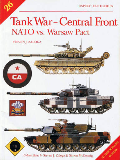 Tank War Central Front - NATO vs. Warsaw Pact (Elite 26)