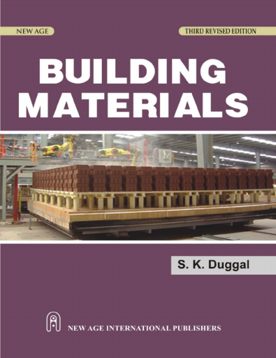Building Materials, Third Edition
