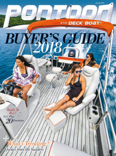 Pontoon & Deck Boat Magazine — January 2018
