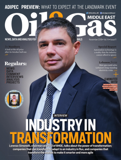 Oil & Gas Middle East – November 2018