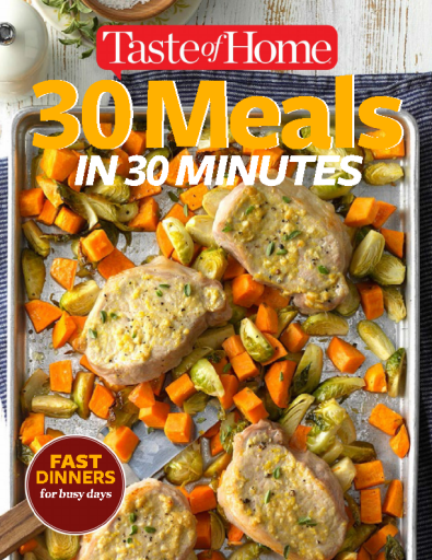 30 Meals in 30 Minutes - October 2017