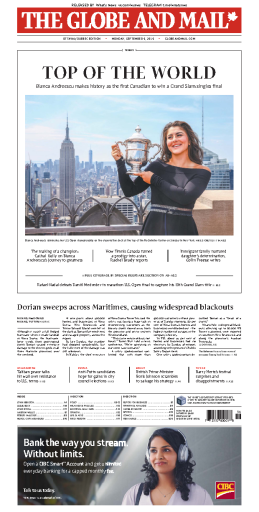 The Globe and Mail - 09.09.2019