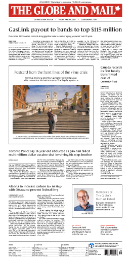 The Globe and Mail - 06.03.2020