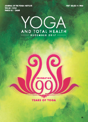 Yoga and Total Health — December 2017