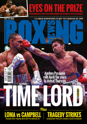 Boxing News – July 25, 2019