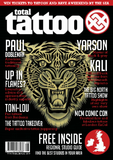 Total Tattoo – August 2019
