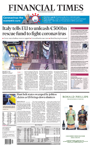 Financial Times Europe - 20.03.2020