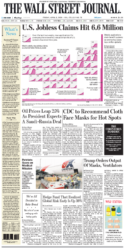 The Wall Street Journal - 03.04.2020
