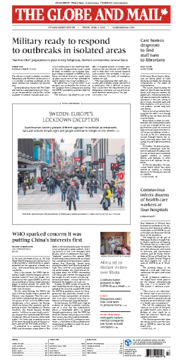 The Globe and Mail - 03.04.2020