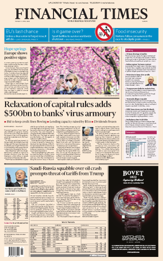 Financial Times Europe - 06.04.2020