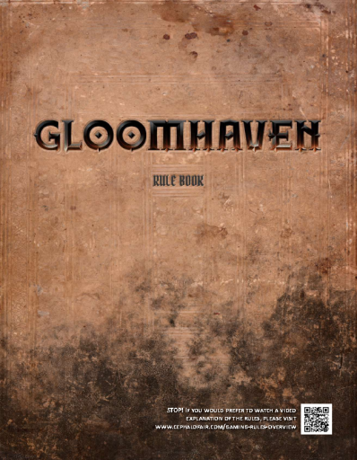 Gloomhaven RulesBook