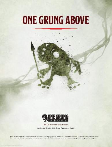 One Grung Above