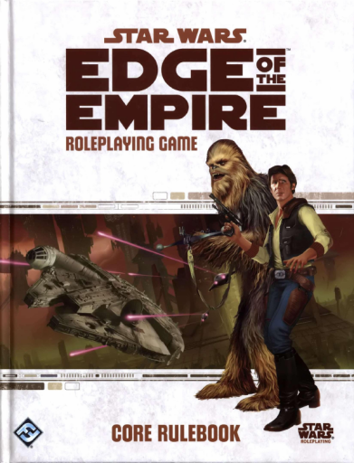 Star Wars:  Edge of the Empire Rule Book