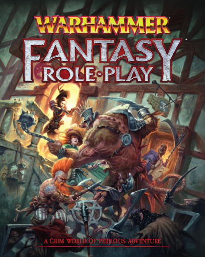 Warhammer Fantasy Roleplay 4th edition
