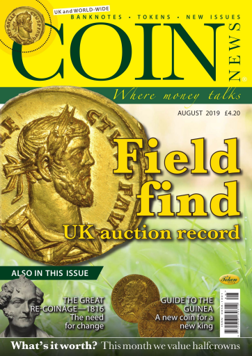 Coin News – August 2019
