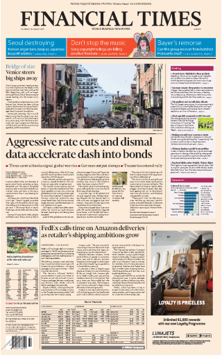 Financial Times Europe - 08.08.2019