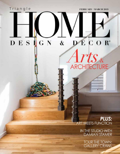 Triangle Home Design & Decor - FebruaryMarch 2019