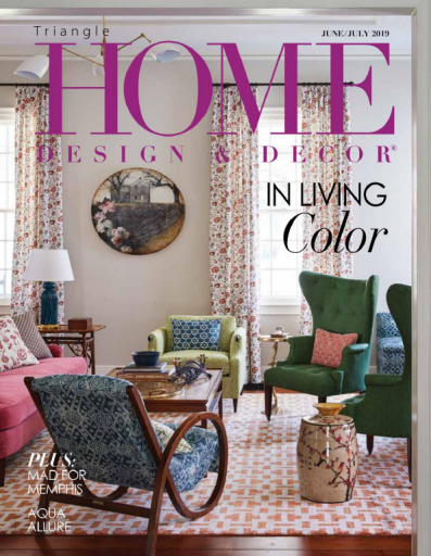 Triangle Home Design & Decor June July 2019