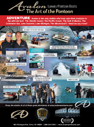 Pontoon & Deck Boat Magazine – February 2019