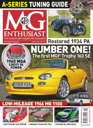 MG Enthusiast – July 2019