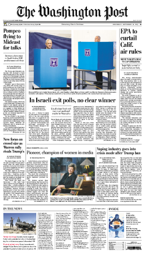 The Washington Post - 18.09.2019