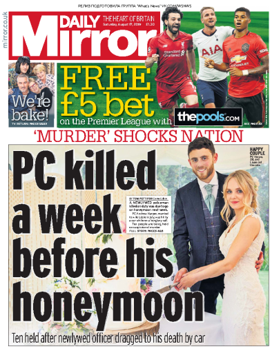 Daily Mirror - 17.08.2019