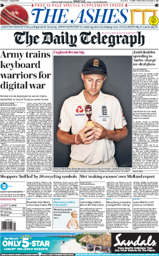 The Daily Telegraph - 01.08.2019