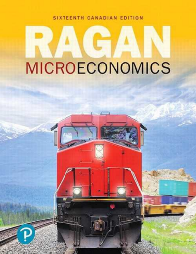 Microeconomics,, 16th Canadian Edition
