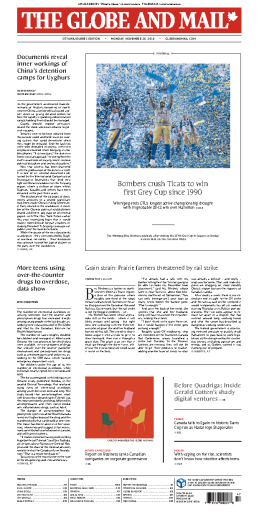 The Globe and Mail - 25.11.2019