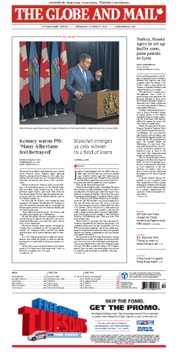 The Globe and Mail - 23.10.2019