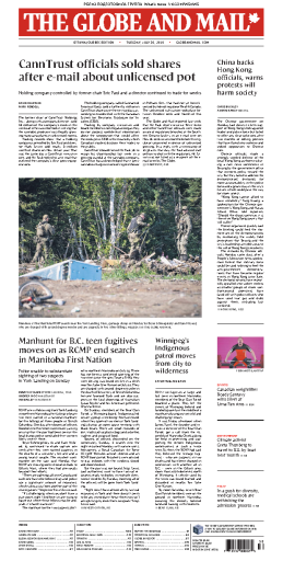 The Globe and Mail - 30.07.2019