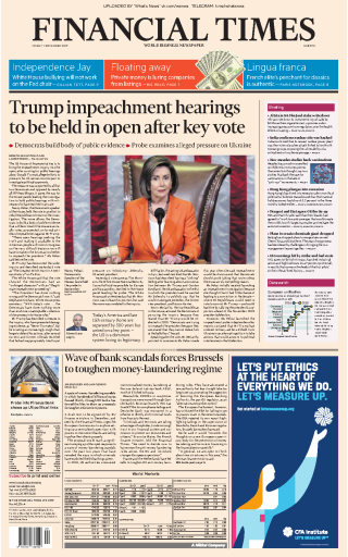 Financial Times Europe - 01.11.2019