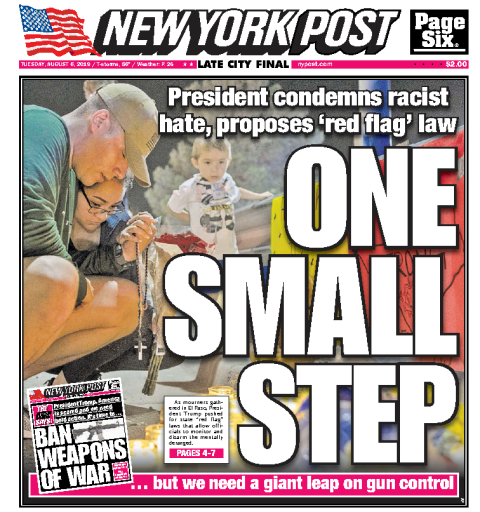 New York Post - 06.08.2019