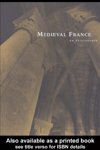 Medieval France. An Encyclopedia