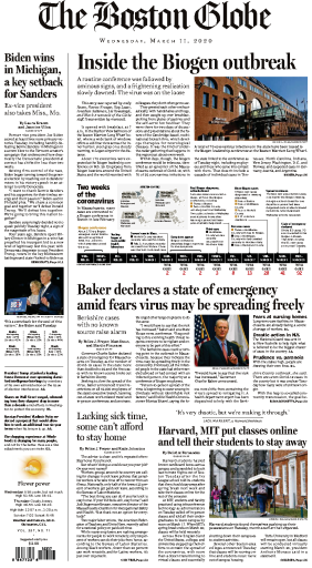 The Boston Globe - 11.03.2020
